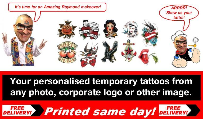 Temporary Tattoos is The