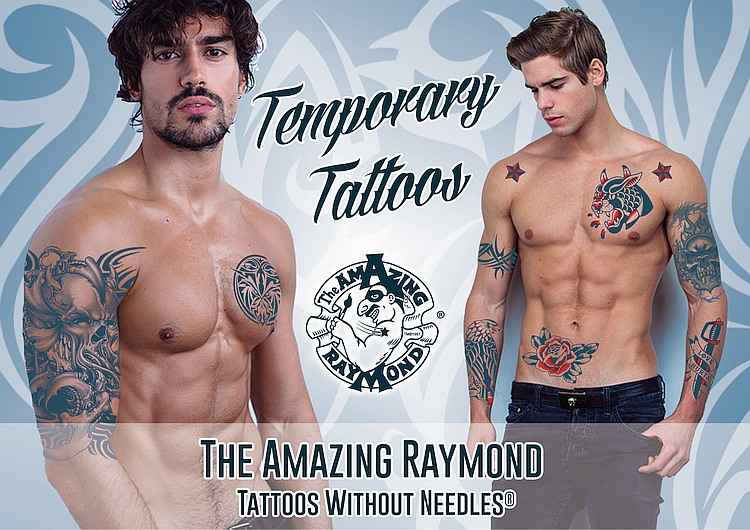 Temporary Tattoos for Men Inspired by Ben Cousins Such is Life Buck's Temporary Tattoos and ...