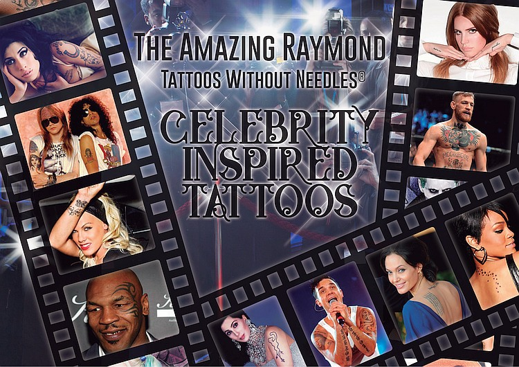 0dfce066b Temporary Tattoos Colin McGregor Style Celebrity Inspired Amazing