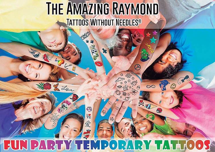 Fun Party Temporary Tattoos