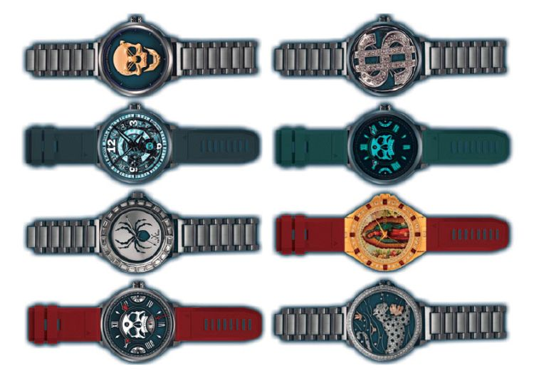 Gangsta Temporary Tattoos Watches 2