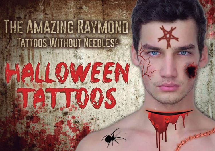 Halloween Tattoos from Amazing Raymond Tattoos