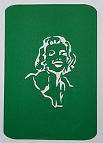 Marilyn Temporary Tattoos
