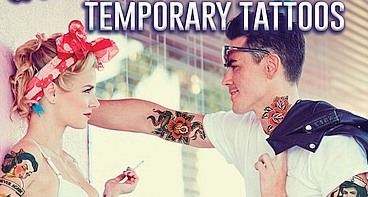 Rockabilly Temporary Tattoos Australia