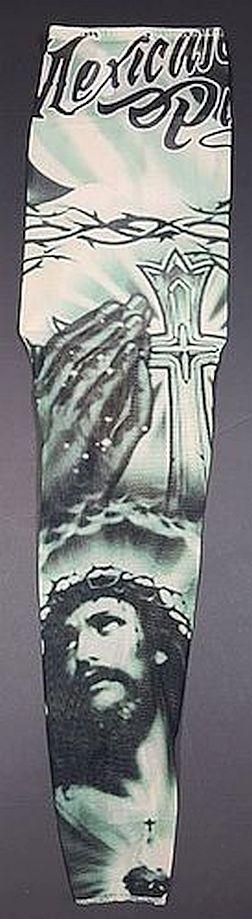 Temporary tattoos sleeves fake henna tattoo sleeves for for Barb wire tattoo sleeve