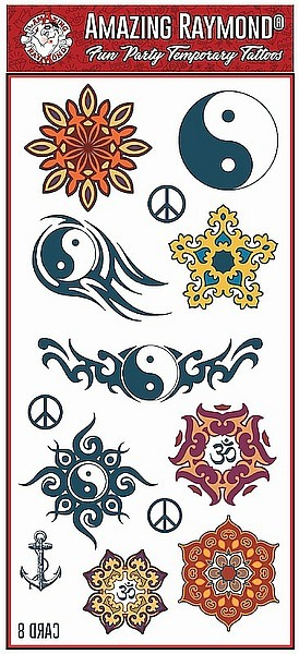 Tattoo Fun Tattoos from The Amazing Raymond Tattoos Products