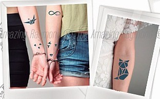 Most Realistric Temporary Tattoos from Amazing Raymond Tattoos