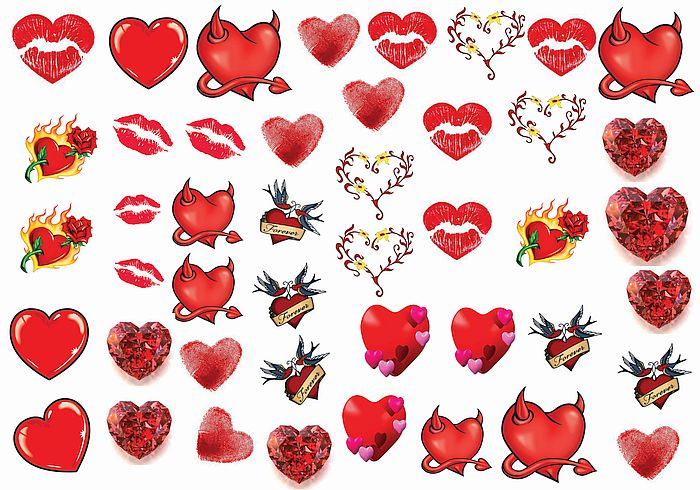 Temporary tattoos holiday special day and halloween events for Valentine s day tattoos