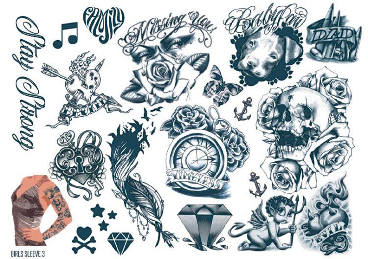 Urban Tattoo Sleeve Designs