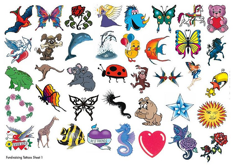 Fundraising Temporary Tattoos Amazing Raymond Tattoos